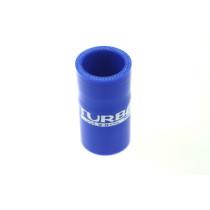 Szilikon összekötő, egyenes TurboWorks Kék 35mm